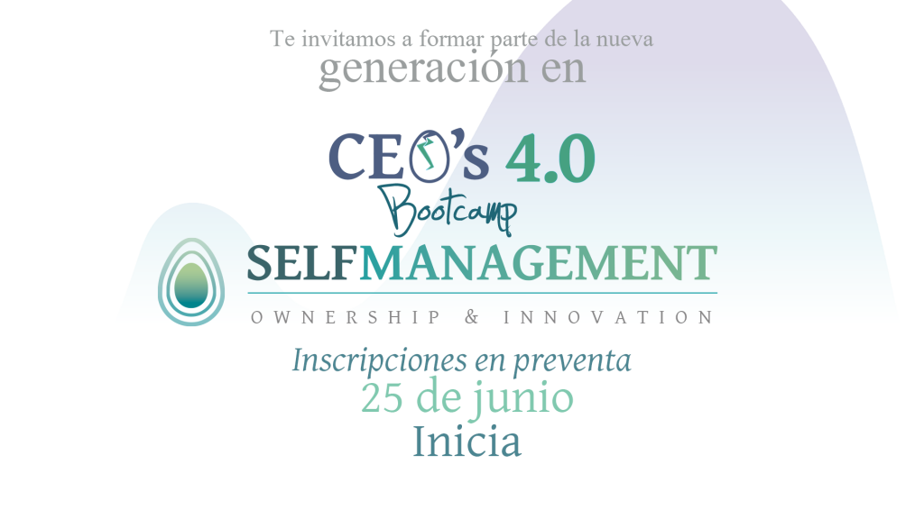 Ceos 4.0 selfmanagment Bootcampo